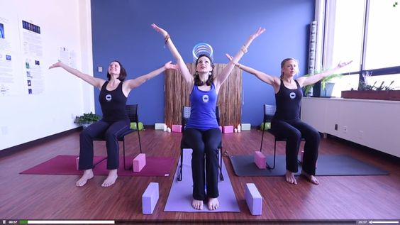 Chair Yoga for Diabetes - enjoy at work or at home!