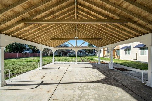 Vinyl Patio Cover Kits Pavilions Custom Sizes 10x12 12x14 14x16 Gable Roof Design Pergola Vinyl Patio Covers