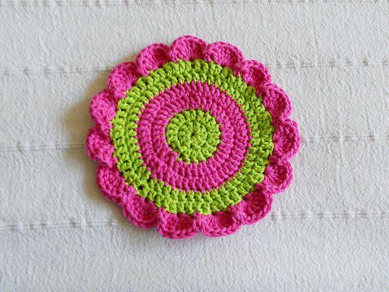 Ravelry: Lily Daisy Wheel  pattern by Lily / Sugar'n Cream