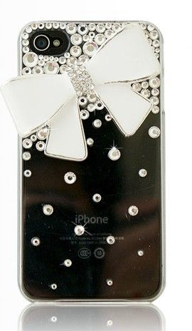 Iphone 4 & 4s cases Big Bowknot shining case for your cell phone