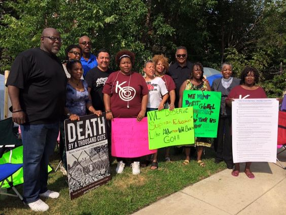 Black Schools Matter – Chicago Protesters Go on Hunger Strike to Save Their Last Neighborhood School