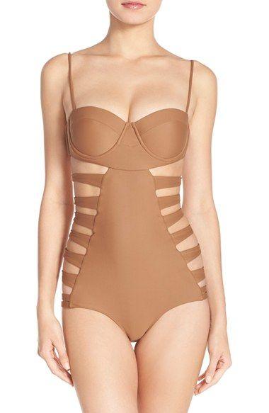 Issa de Mar 'San Sebastian' Underwire One-Piece Swimsuit