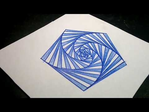 How To Draw Single Pattern Design Design 13 Youtube Pattern Design Drawings Drawing Projects