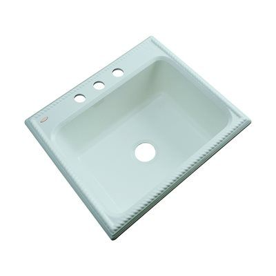 Dekor 371 Master Collection Litchfield Single Bowl Kitchen Sink
