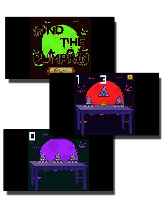 Find The Pumpkin - HTML5 Mobile Game - 1