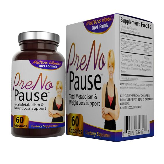 PreNoPause: Menopause Weight-Loss & Metabolism Supplement – Elevate Recovery…