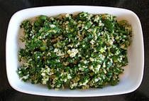 Parsley and Mint Tabouli