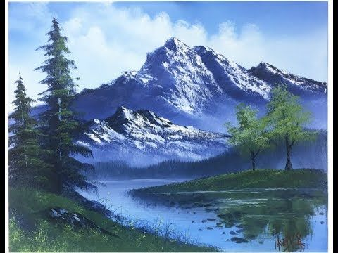 Free Painting Lesson Landscape Painting Painting With Magic Season 4 Ep 9 Mountain Painting Acrylic Landscape Painting Tutorial Mountain Landscape Painting