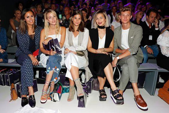 Fashion Blogger Designdschungel, Ohh Couture, Fashiioncarpet and Masha Sedgwick in Laurèl