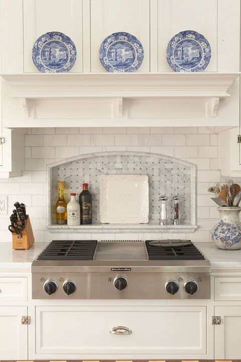 Suzie Hendel Homes Country Kitchen With White Wood