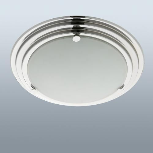 Bathroom ceiling exhaust fan light heater