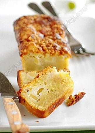 Moelleux aux pommes, amandes et chocolat blanc @valeriemousseau