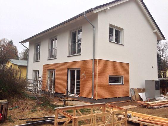 Holzfassade s deseite h user housing pinterest wir for Holzverkleidung haus