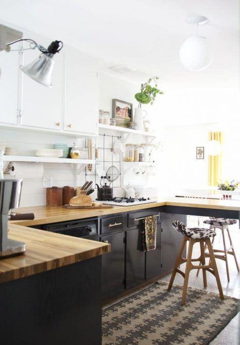 10 idee per ottimizzare lo spazio vuoto tra i pensili in