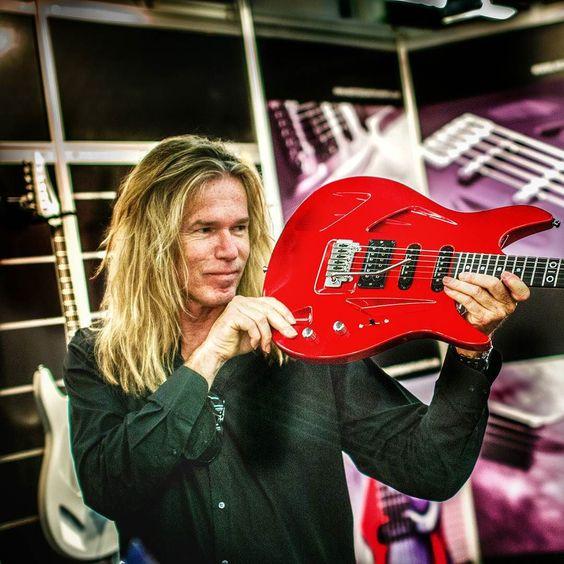 Adrian Vandenberg Aristides guitars  Frankfurt Musikmesse