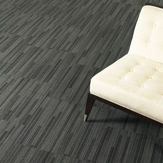Commercial Cut Pile Tufted Synthetic Carpet Tile Green