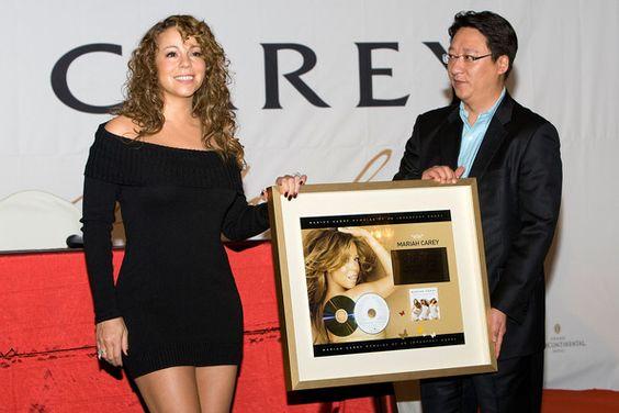 Mariah Carey Photos - Mariah Carey Promoting Her New Album In Korea - Zimbio