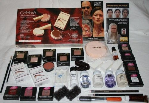 Mehron Special Fx All Pro Makeup Kit Uk - Makeup Vidalondon