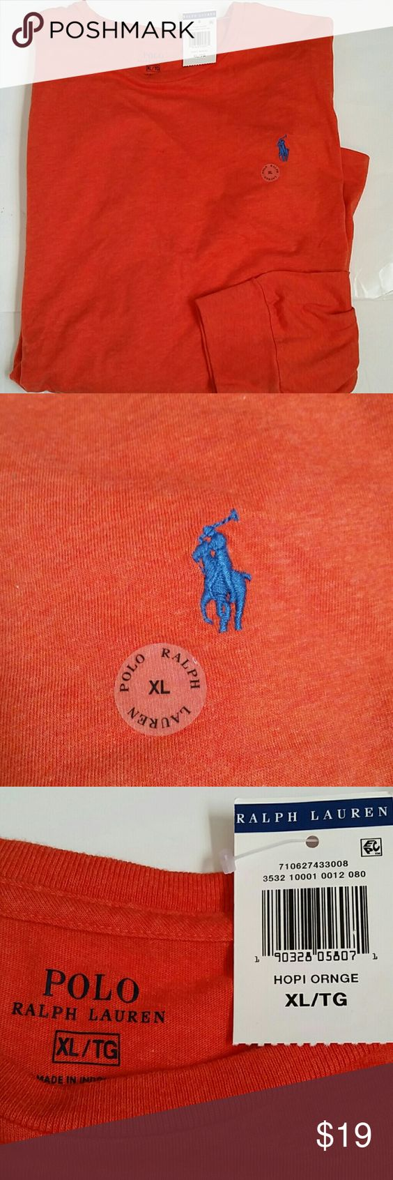 Polo Ralph Lauren men's long sleeve t shirt New with tags, classic fit   I do have bundle discount, other than that all prices are firm!  No low balls please :) Polo by Ralph Lauren Shirts Tees - Long Sleeve