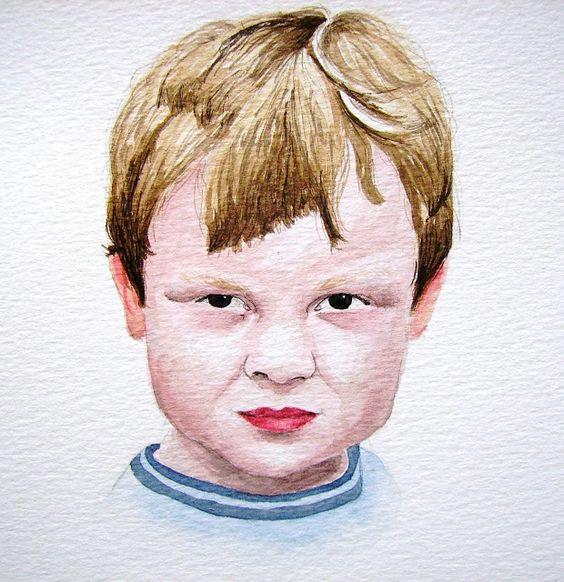 aquarelle enfant