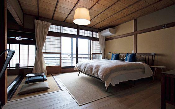 インテリア 和室 ベッド <マンション4.5畳中和室を4人家族の寝室に>ベッドの配置とインテリアまとめ。