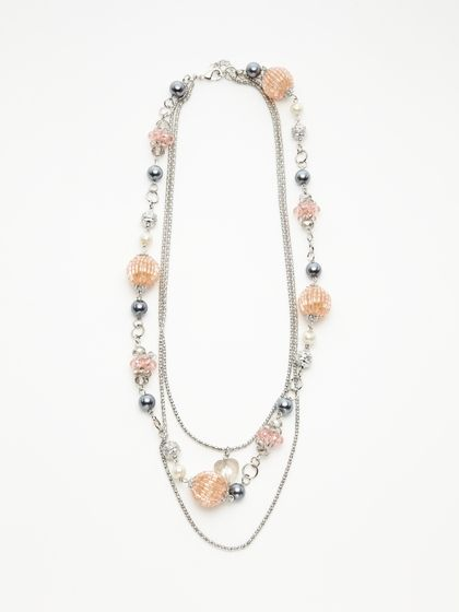 Leslie Danzis - MULTI-STRAND BEADED NECKLACE by Leslie Danzis on Gilt.com