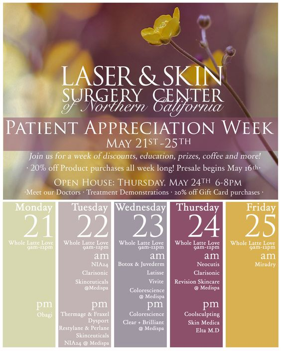 It's the most wonderful time of the year! Patient Appreciation Week starts today!