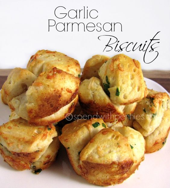 Garlic Parmesan Biscuits | Recipe | Biscuits, Parmesan and Garlic