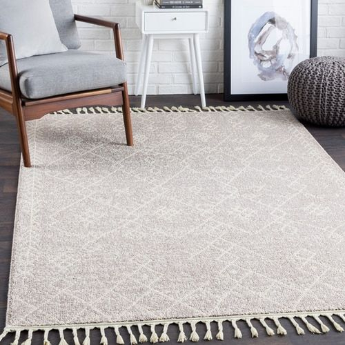 Restoration Reo 2310 Area Rug With Colors Cream Taupe Machine Woven Polypropylene No Backing Bohemian Global Made In Turkey Area Rugs Rugs Beige Area Rugs