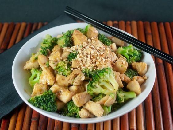 Thai Chicken Stir-Fry With Spicy Peanut Sauce | Recipe | Spicy Peanut ...