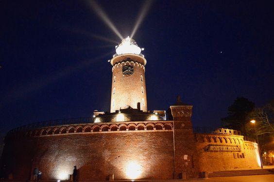 Nacht Leuchtturm