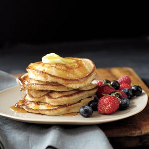 Pancakes, Homemade pancakes and Orange on Pinterest
