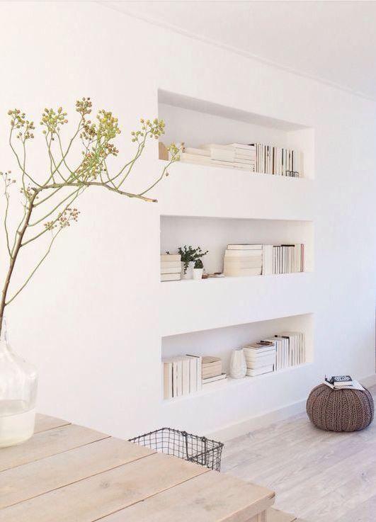 Gorgeous Home Decor Shelves