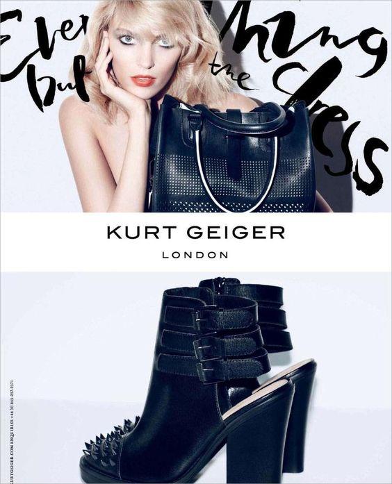 Kurt Geiger S/S 13 Campaign (Kurt Geiger)