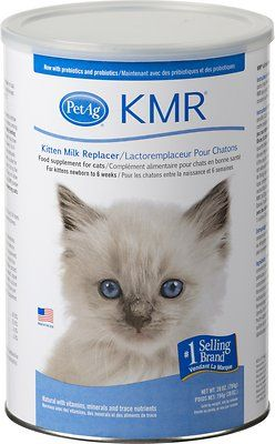 Petag Kmr Kitten Milk Replacer Powder 28 Oz Can Chewy Com Cat Pet Supplies Cats And Kittens Kitten