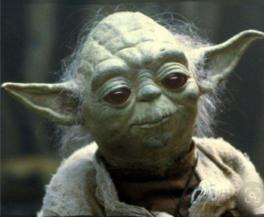 Old Yoda With Baby Yoda S Eyes Teacher Memes Funny Teaching Memes Teacher Memes