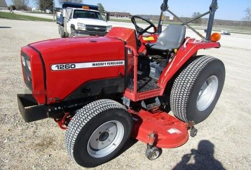Free Massey Ferguson 1240 Tractor Service Repair Manual In 2020 Tractors Massey Ferguson Massey Tractor