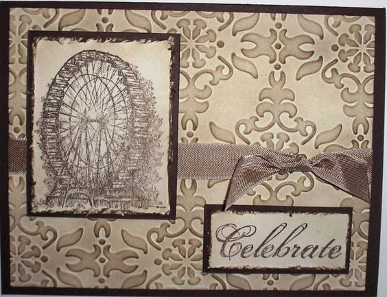 Feeling Sentimental-Farris Wheel by Nan Cee's - Cards and Paper Crafts at Splitcoaststampers