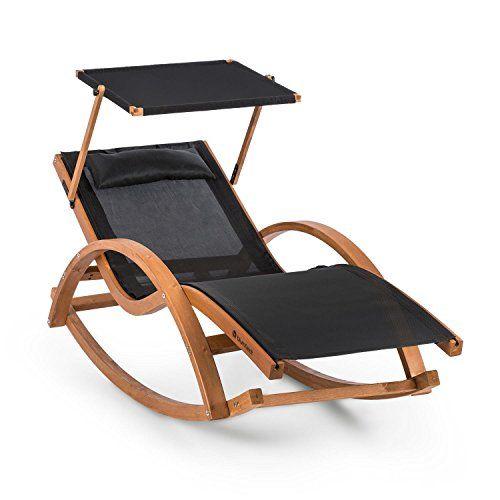 Blumfeldt Malibu Chaise Longue Chaise Longue Chaise A Bascule Chaise Longue Jardin