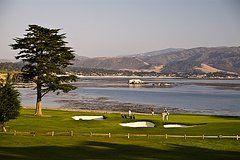 Pebble Beach Golf Courses  by Richard Nowitz