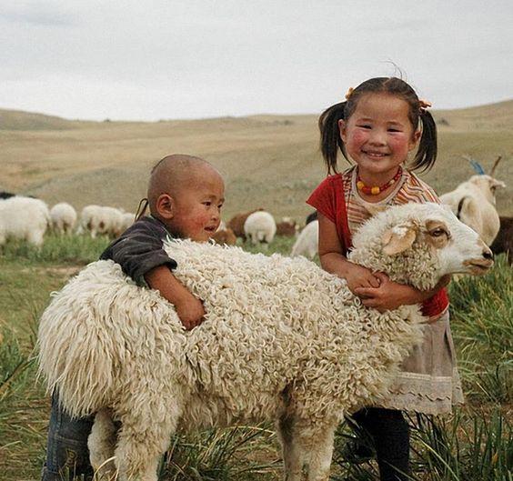 Precious Mongolian Children