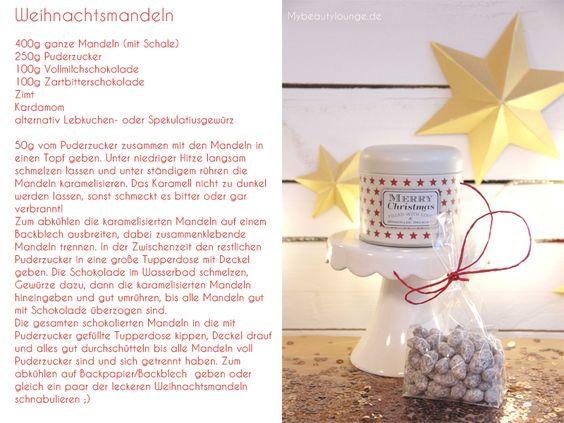 Weihnachtsmandeln Rezept