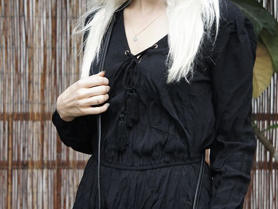 Free People Shirt #freepeople #laceup #black #stellamccartney #cielbuckle #acne #flared #allblack #style #bloggerstyle