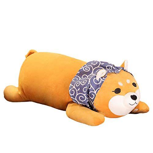 Cuefun Fluffy Laying Corgi Plush Pillow Shiba Inu Dog St Https Www Dp B07yv1cpmp Ref Cm Sw R Pi D Corgi Plush Dog Stuffed Animal Shiba Inu Dog