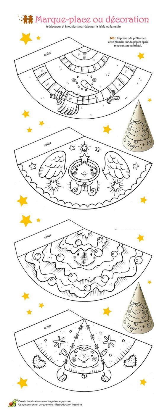 idée décoration de table-ange                                                                                                                                                      Plus