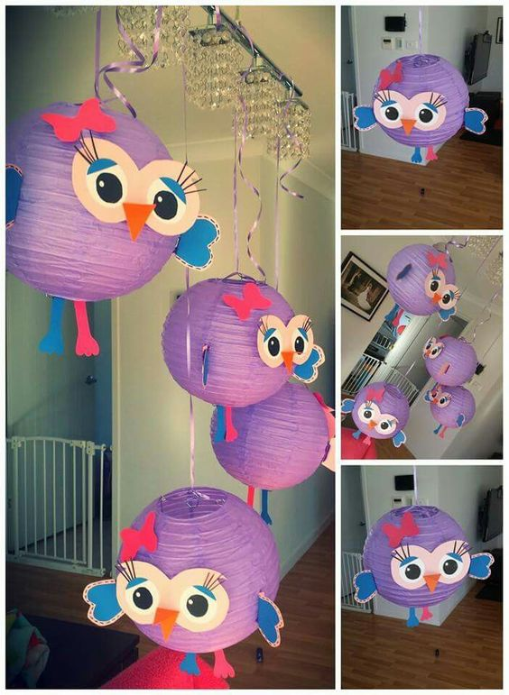 Hootabelle party decorations kids stuff pinterest for Baby owl decoration