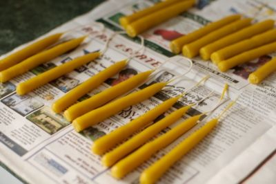 Beeswax Candles | FIMBY