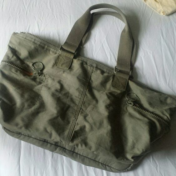 GAP Green and orange bag can be worn well with anything travel or something. GAP Bags Shoulder Bags