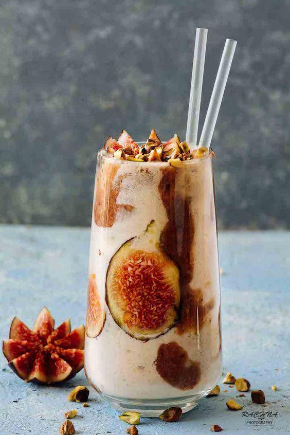Fresh Figs Milkshake Recipe How To Make Figs Milkshake Recipe Recipe Milkshake Recipes Fruit Milkshake Fig Smoothie