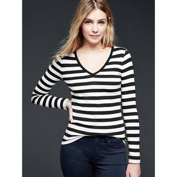 V neck tee long sleeve t shirts and sleeve on pinterest for Womens tall v neck t shirts